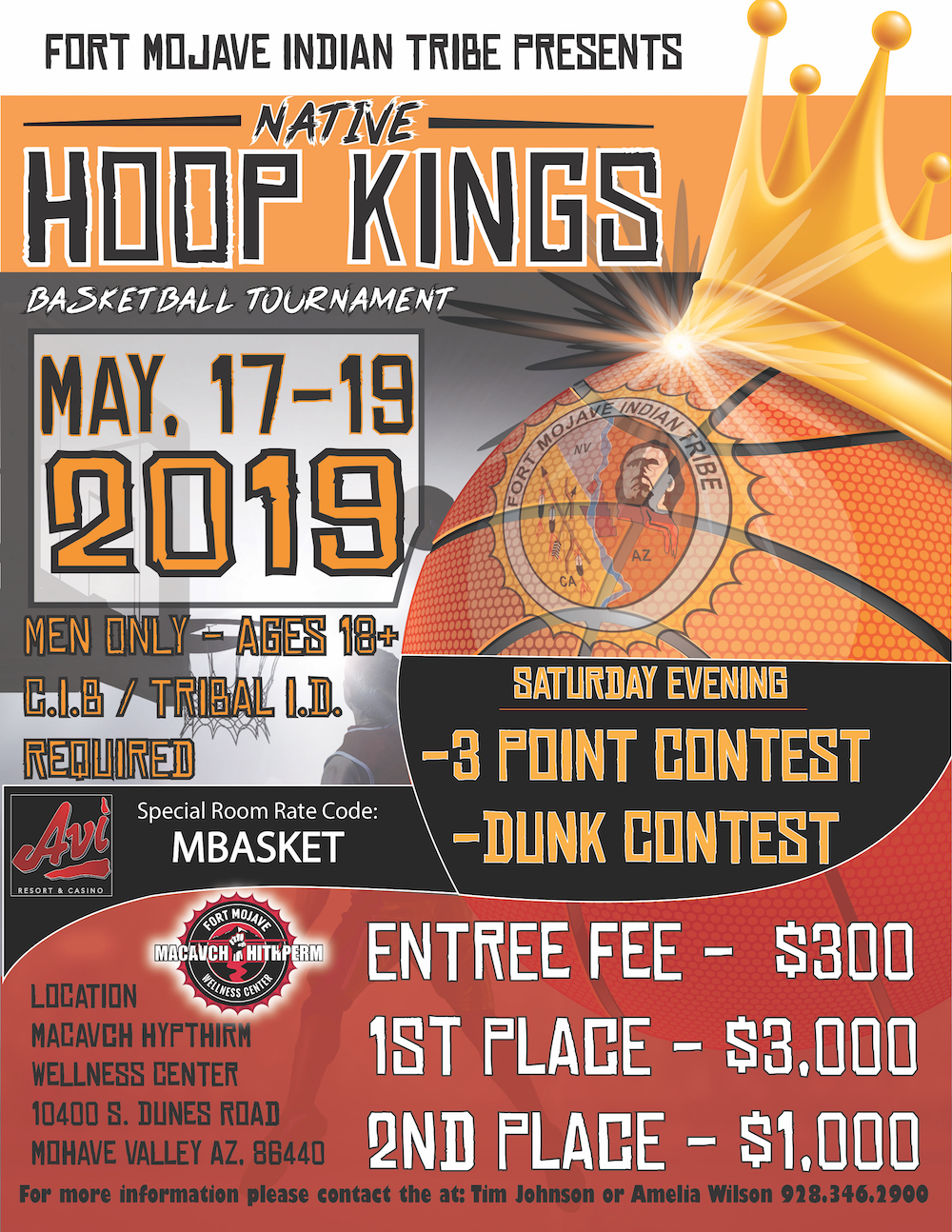 native hoop kings basketball tournament